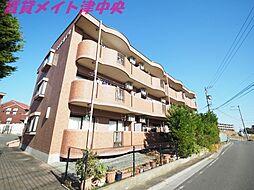 三重県津市垂水の賃貸マンションの外観