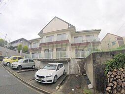 兵庫県宝塚市泉ガ丘の賃貸マンションの外観
