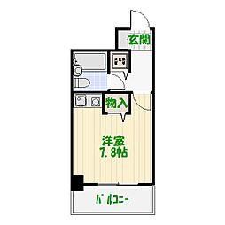 ライオンズマンション北綾瀬第5[0504号室]の間取り