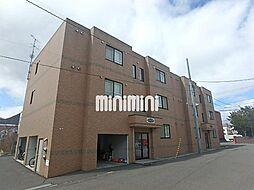 北海道札幌市中央区宮の森四条3丁目の賃貸マンションの外観
