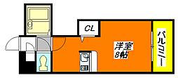 ハイグレース・長田 607号室[6階]の間取り