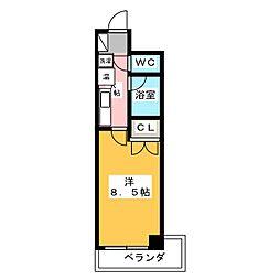 パインフィールド壬生[5階]の間取り