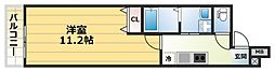フジパレス横堤I番館[2階]の間取り