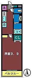 サンライズ(本町)[103号室]の間取り