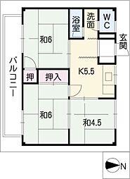 CASA大垣[1階]の間取り