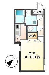 Branche覚王山(ブランシェ)[4階]の間取り