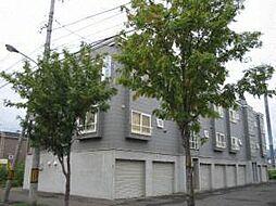 北海道札幌市東区北五十一条東6丁目の賃貸アパートの外観