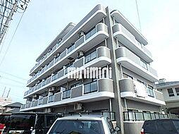 宮城県仙台市若林区三百人町の賃貸マンションの外観