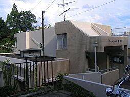 兵庫県宝塚市雲雀丘4丁目の賃貸マンションの外観