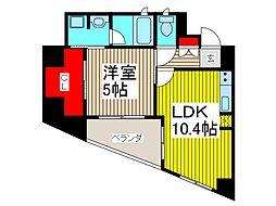 KDX川口幸町レジデンス[5階]の間取り