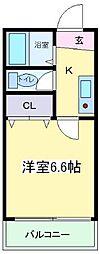 ロイヤルハイツ苅田[3階]の間取り