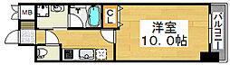 TKアンバーコート六条通[3階]の間取り