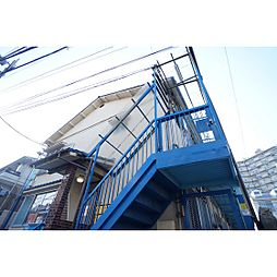 東京都世田谷区松原2丁目の賃貸アパートの外観