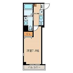OX residence[3階]の間取り