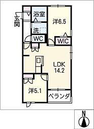 仮)藤森2丁目マンション西棟[3階]の間取り