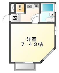 ベルトピア西宮[1階]の間取り