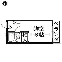 藤原マンション[202号室]の間取り