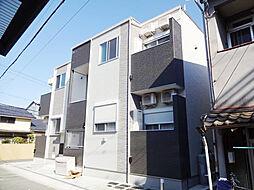 大阪府大阪市住吉区山之内元町の賃貸アパートの外観