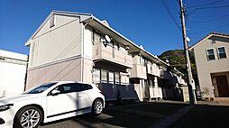 静岡県静岡市葵区瀬名7丁目の賃貸アパートの外観