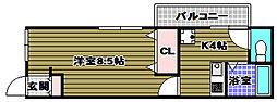 くみの木住宅[1階]の間取り