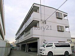 兵庫県川西市新田2丁目の賃貸マンションの外観