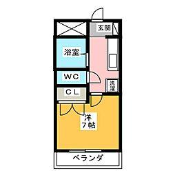 伊豆美・ロマン三島[3階]の間取り
