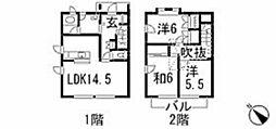 [テラスハウス] 広島県広島市安佐南区東野2丁目 の賃貸【/】の間取り