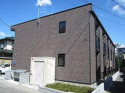 埼玉県坂戸市元町の賃貸アパートの外観
