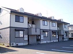 富山県富山市経堂の賃貸アパートの外観
