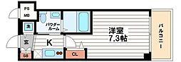 ステージグランデ堺筋本町[11階]の間取り