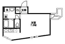 アドバンス新大阪IV[6階]の間取り