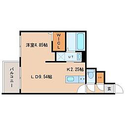 (仮称)北22西3MS A棟[2階]の間取り