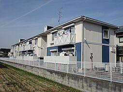 大阪府茨木市桑田町の賃貸アパートの外観
