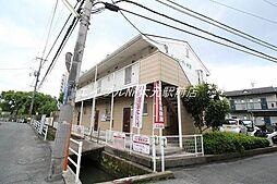 岡山県岡山市北区学南町3の賃貸アパートの外観