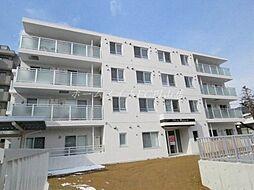 北海道札幌市中央区宮ケ丘2丁目の賃貸マンションの外観