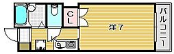 メゾンルミエール[4階]の間取り