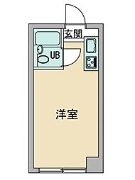 Mマンション[2階]の間取り
