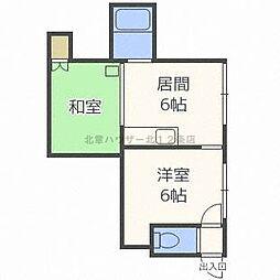 いまいマンション[2階]の間取り