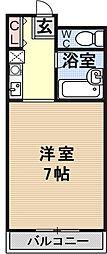 エミネンスコート瀬田[302号室号室]の間取り