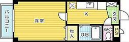 ソレーユ戸畑[302号室]の間取り