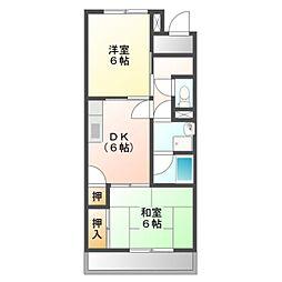 Ele Reve KawazoeA棟[2階]の間取り