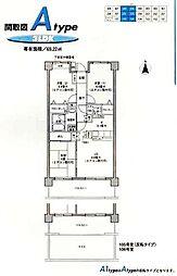 ルミエール泉[305号室]の間取り