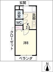 グランドール21[2階]の間取り
