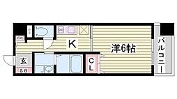 KHKコート板宿[9階]の間取り