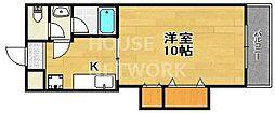 ハイツSAWARAGI[106号室号室]の間取り