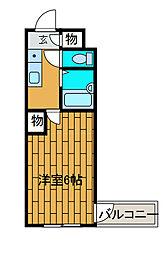 ウィン相南[3階]の間取り