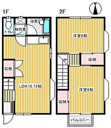 サンパレス21[A1号室]の間取り