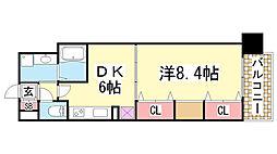 KAISEI神戸海岸通第2[407号室]の間取り