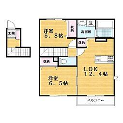 IB−21[2階]の間取り