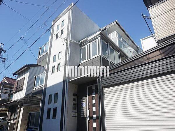 愛知県名古屋市千種区春岡1丁目の賃貸アパートの外観